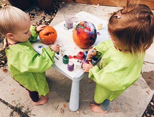 Charlie Rowan Designs Pumpkin Painting