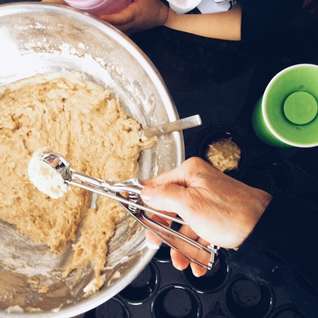 Charlie Rowan Banana Muffin Recipe