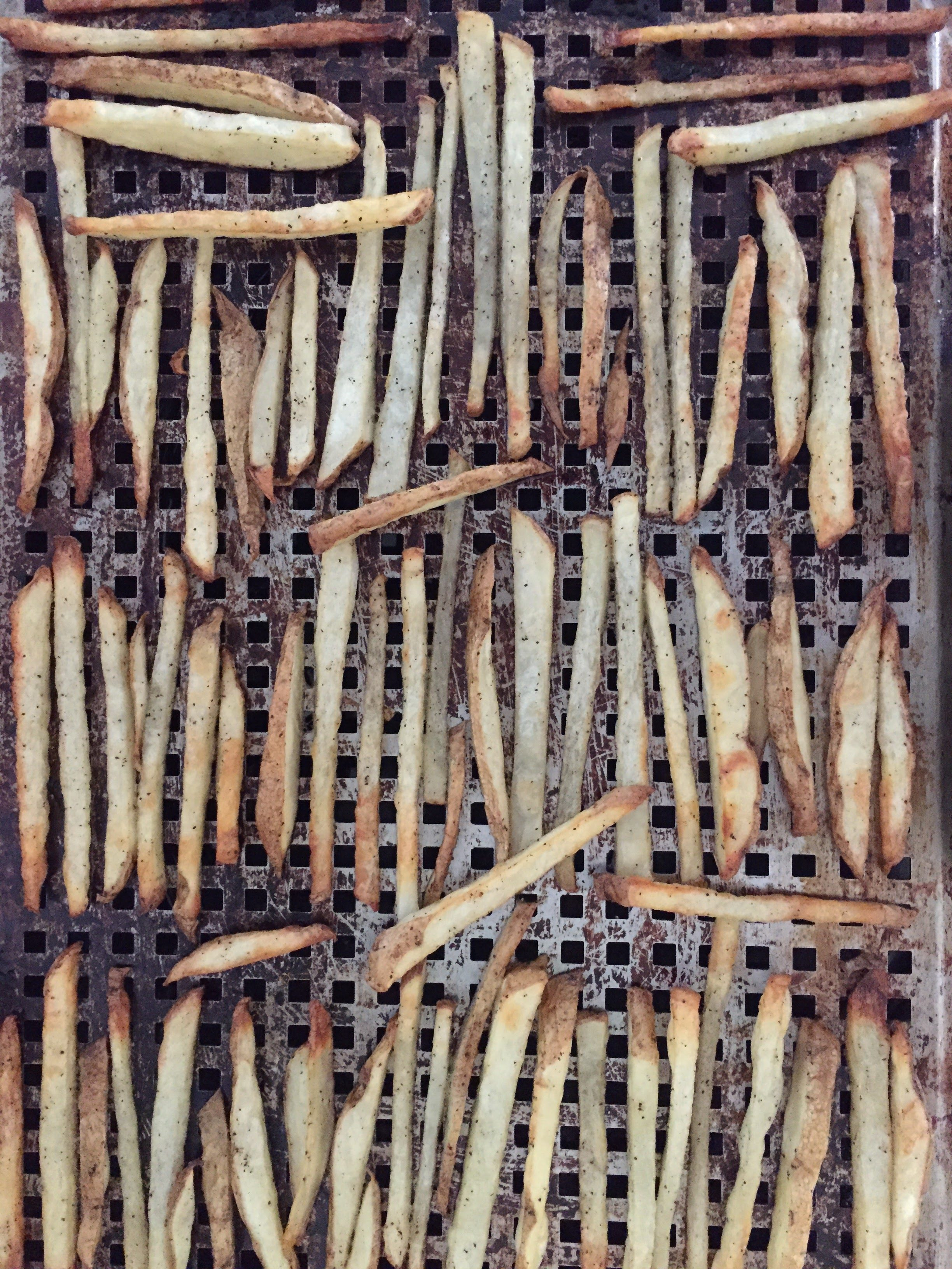 Charlie Rowan Baked French Fries