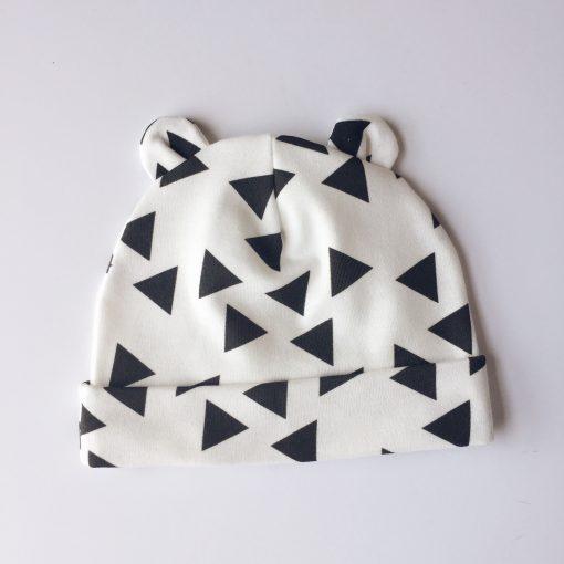 Triangle Newborn Baby Bear Blanket Charlie Rowan Designs