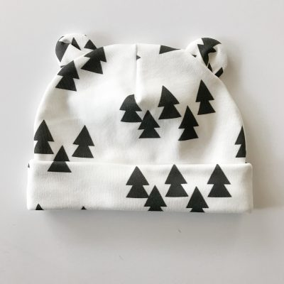 Trees Newborn Baby Bear Blanket Charlie Rowan Designs