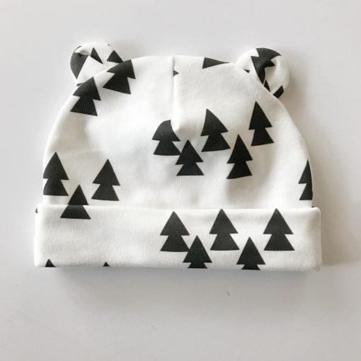 Trees Newborn Baby Bear Blanket Charlie Rowan Designs