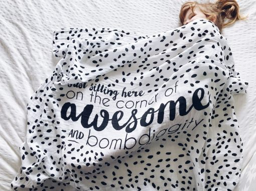 quote-Muslin-Swaddle-blanket-charlie-rowan-designs