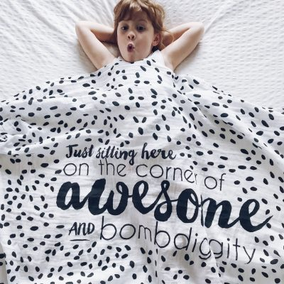 quote-Muslin-Swaddle-blanket-charlie-rowan-designs