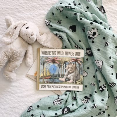Party Muslin Baby Blanket by Charlie Rowan Designs