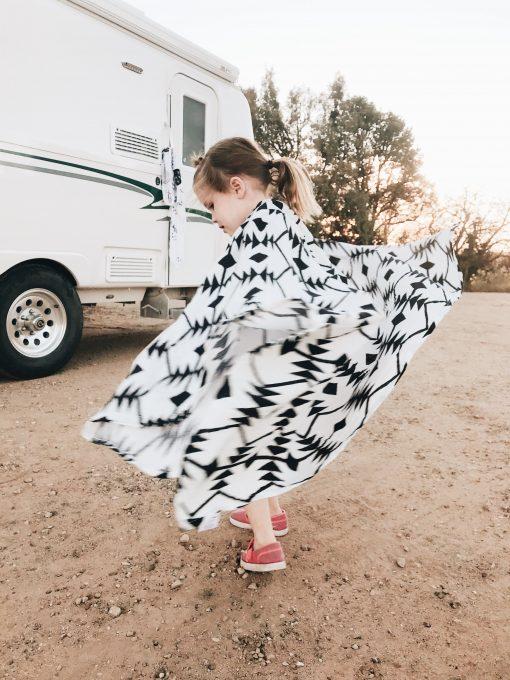 Sayulita Muslin Baby Blanket Charlie Rowan Designs
