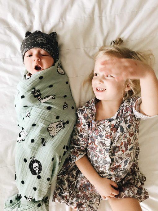Newborn Cloud Slate Grey Hat Charlie Rowan Designs