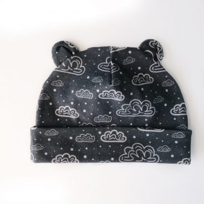 Newborn Cloud Slate Grey Hat Charlie Rowan Designs