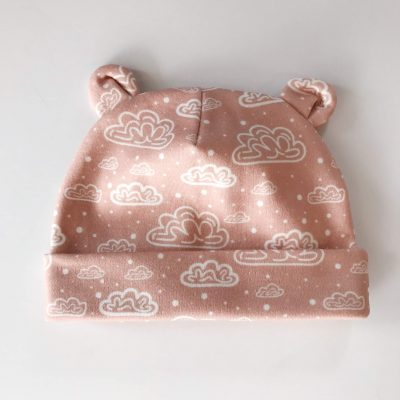 Clouds Terracotta    newborn beanie 0-3 month.  16.00 · Confetti Pink Newborn  Baby Bear Hat by Charlie Rowan Designs 44afb5be5b62