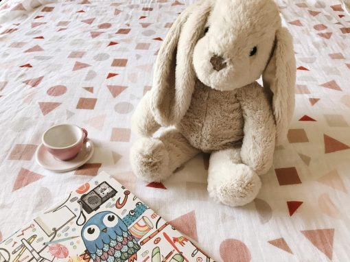 Terrazzo-shapes-muslin-baby-swaddle-blanket-charlie-rowan-designs